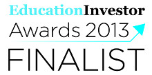 EducationInvestor Finalist 2013