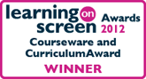 Learning on Screen winner logo